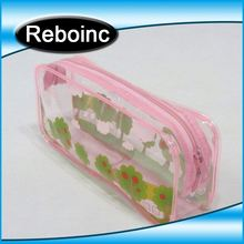 Clear vinyl stationary pouch for rulers XYL-S080