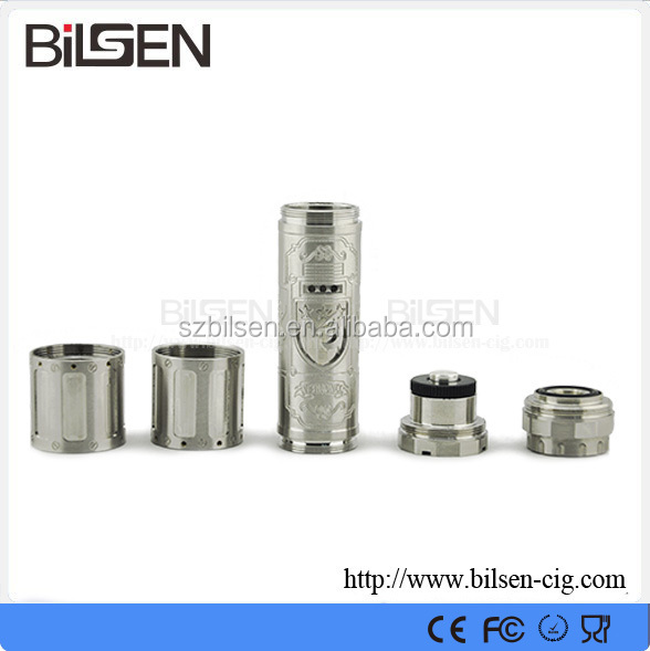 Newest mechanical mod 18650 battery stainless steel tube V3 for kayfun RDA atomizer