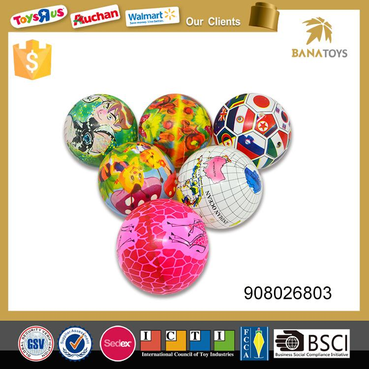 23 CM printed high bouncing ball