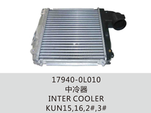Auto engine parts 17940-0L010 Inter Cooler Assembly for TOYOTA Hilux Hiace