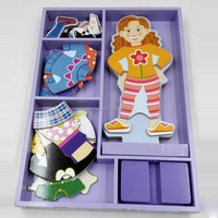 PRIMARK Wooden Puzzle Games for Girls Dress Up New