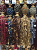 wholesale decorative fringe trimmings,curtain tie back
