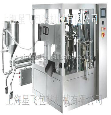 Automatic beef steak sauce pouch filling machine
