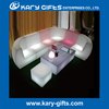 LED illuminated living room furniture design tea table