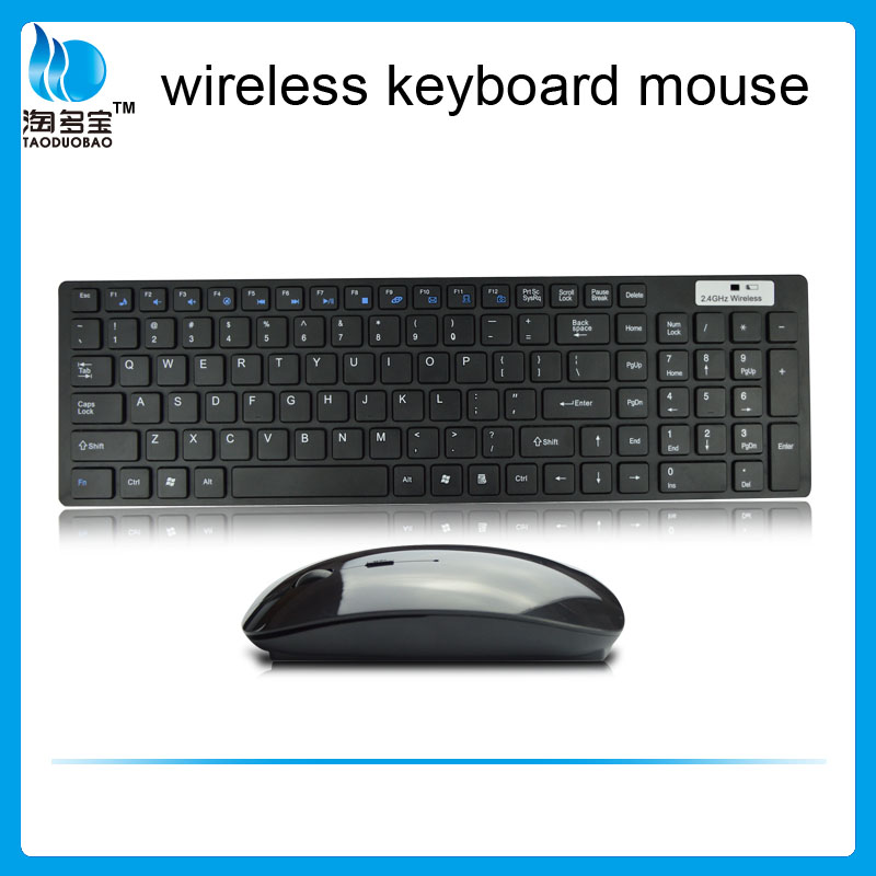 VMT-02 thinnest cheap wireless keyboard and mouse