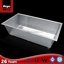 Asia Hot sell Item 304 stainless steel ice tub