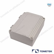 250*185*88mm IP66 hinge die cast aluminum waterproof enclosure