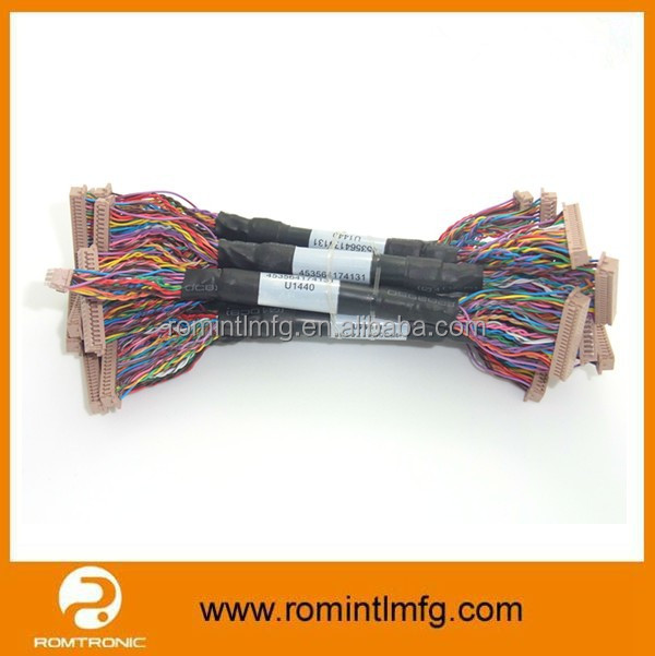 Electronic Lvds Cable Harness For Lcd Monitor