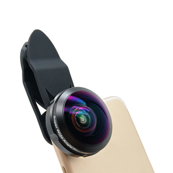 HD super fisheye 238 Degree high wide angle definition no dark corner phone lens for mobile phone
