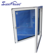 triangle glass french window blind inside double glass window aluminium fiber glass window