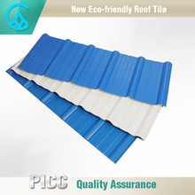 New type materials pvc roof plastic wall tile