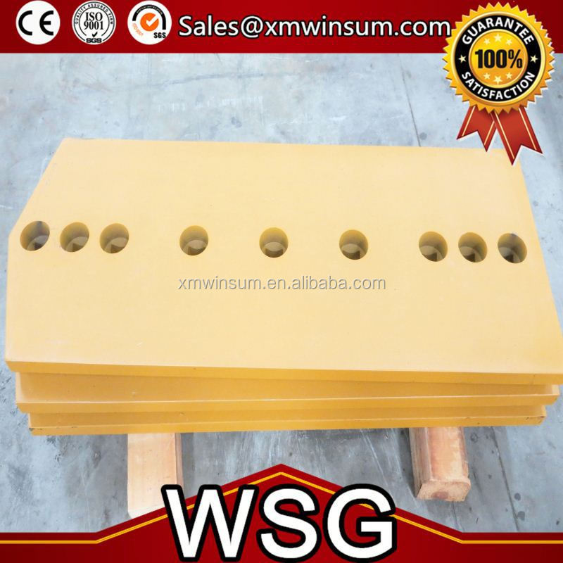WSG Cutting Edge Blade 7D1158 Dozer Blade For Excavator