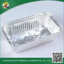 Grill Aluminum foil container Mould, Silver Aluminum foil container for food