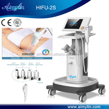 hifu/hifu machine with 13mm fat soluble transmitter