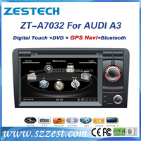 ZESTECH double din car dvd gps navigation system for audi a3 autoradio gps for Audi A3/S3/RS3 2003-2012