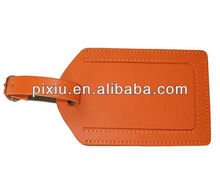 Airline baggage tag leather luggage tag for travel