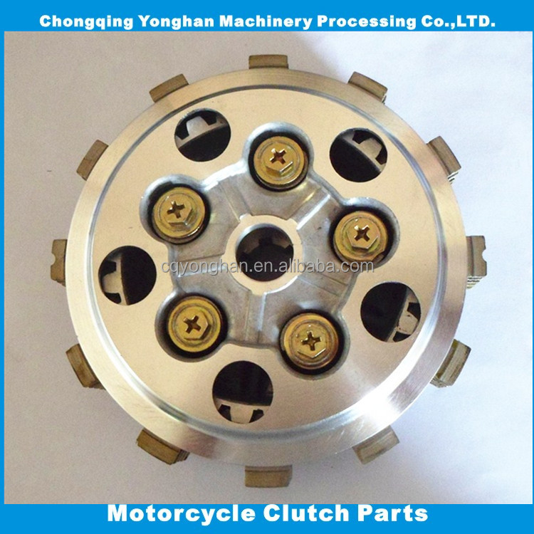 GN125 motorcycle center clutch complete for 125cc suzuki motorcycle