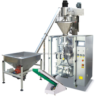 Automatic powder VFFS packaging machine with auger filler