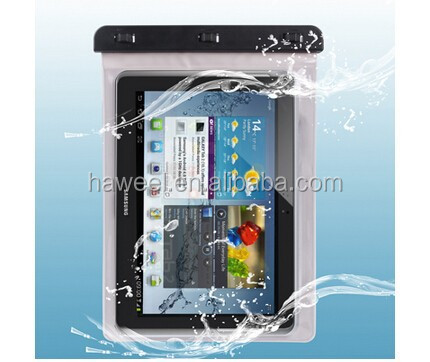 High Quality Waterproof Bag Protective Case for Samsung Galaxy Tab 2 (10.1) / for P5100 , Waterproof Degree: IPX8