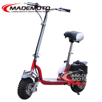 2017 Hot sell 50cc one cylineder 4 stroke cheap gas scooter