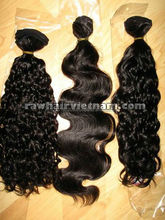 Wholesale price good quality strong machine weft curly Brazilian virgin hair 5pcs for sample order