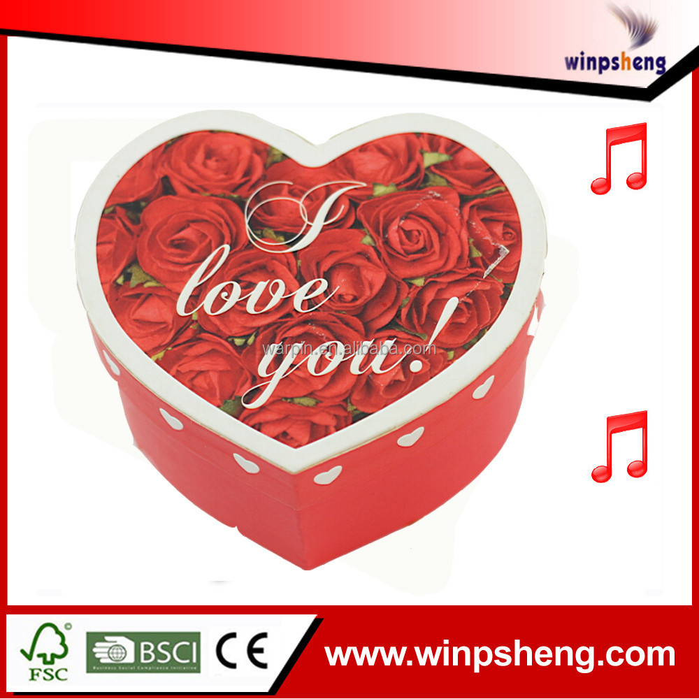 2015 New Design Customized Decoration For Wedding Sweet Box