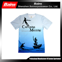 High quality sublimation custom made t-shirts&t shirts for sublimation printing&sublimation t shirts design