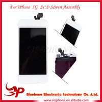 alibaba china LCD For Apple iPhone 5 5G Black LCD Display Screen + Touch Digitizer Assembly