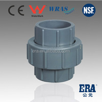 MADE IN CHINA Factory Supply Socket or Thread UPVC Union PN10 PVC Pipe and fitting