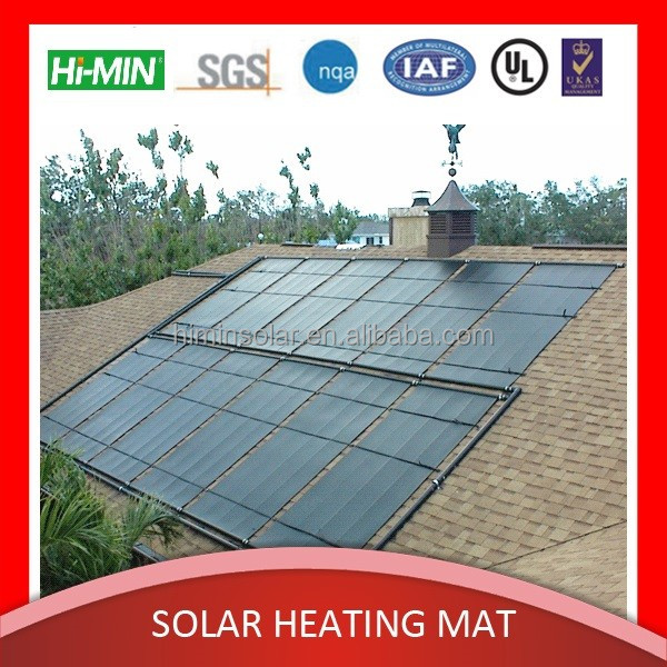 Swimming pool solar heater, free hot water for swimming pool, plastic solar collector