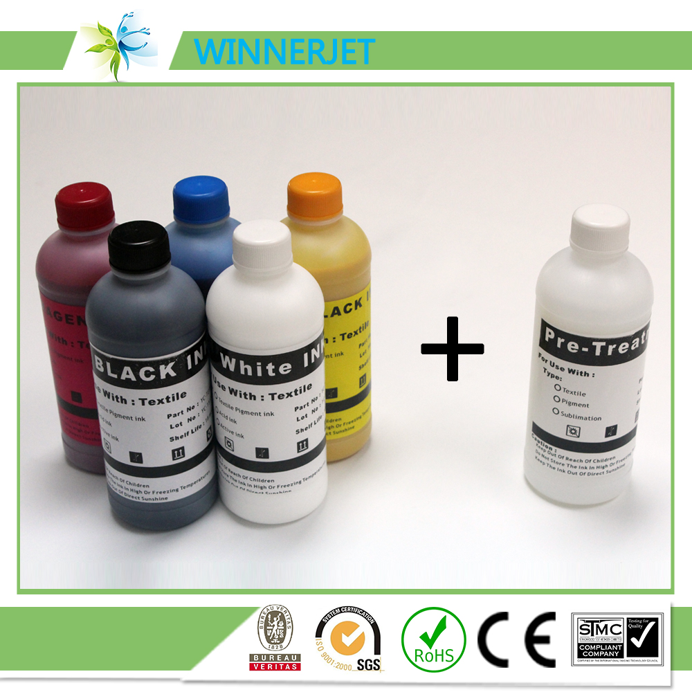 DTG printing textile ink for Epson DX5 DX7 printheads,T shirt ink