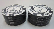 14 Gram Colorful Clay Poker Chips company stamp sample