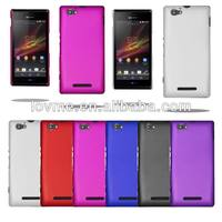 For Sony Xperia M Hybrid Plastic Hard Case Cover Free Screen Protector
