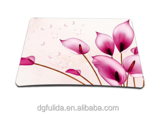 Creative Design Rubber with cloth Mouse Pad, EVA PVC mouse pad