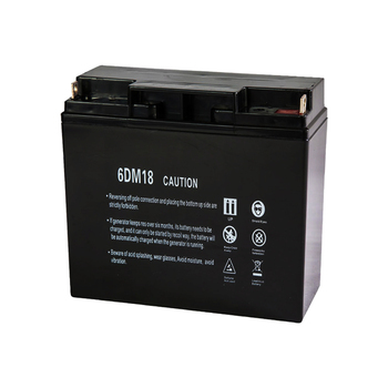 Lead acid rechargeable 12v 17ah diesel generator battery