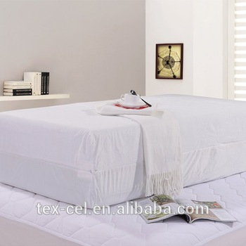RR037 BED BUG PROOF MATTRESS ENCASEMENT PROTECTOR COVER ANTI ALLERGY DUST MITE - Jozy Mattress | Jozy.net