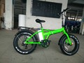 Alaska , e cycle fat tire electric bike welcomed