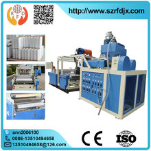 Single Screw PE Blowing Automatic Plastic Film Making Machine