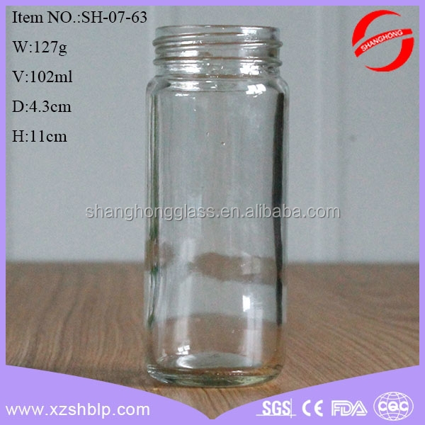 100ml roundness voodoo spice herbal incense glass jar wholesale