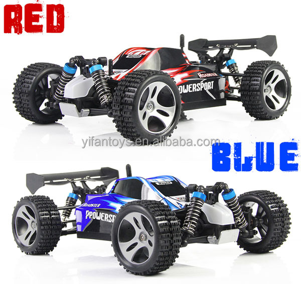 WLtoys A959 1:18 Scale 2.4G RC OFF - Road Racing Car with Anti - vibration System