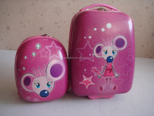 kids school trolley bag and backpack 2 pcs set