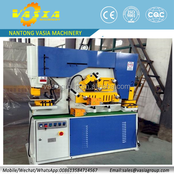Highest quality Q35Y Series Hydraulic Iron Worker / iron worker machine