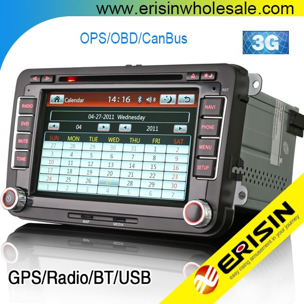 Erisin ES7900V Car Radio DVD GPS Navigation System for Polo V 6R
