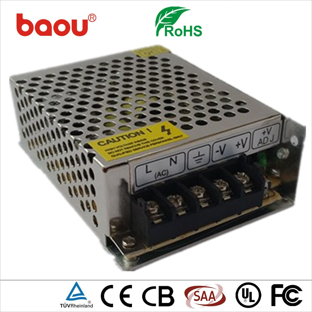 Baou 5V 12A 60W 5050 smd led strip power supply