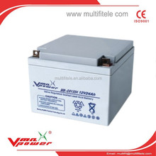 12v 100AH GEL Lead Acid Deep cycle battery ISO14001