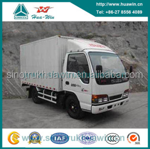 4 Ton 98HP Light Duty Van Cargo Truck Ql5040xxy3earj