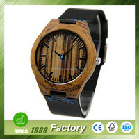 Hot Sale Customize Natural Wooden Bamboo watch manufacturer