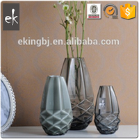 Made In China New Product Types Design Glass Vase Manufacture VA1092