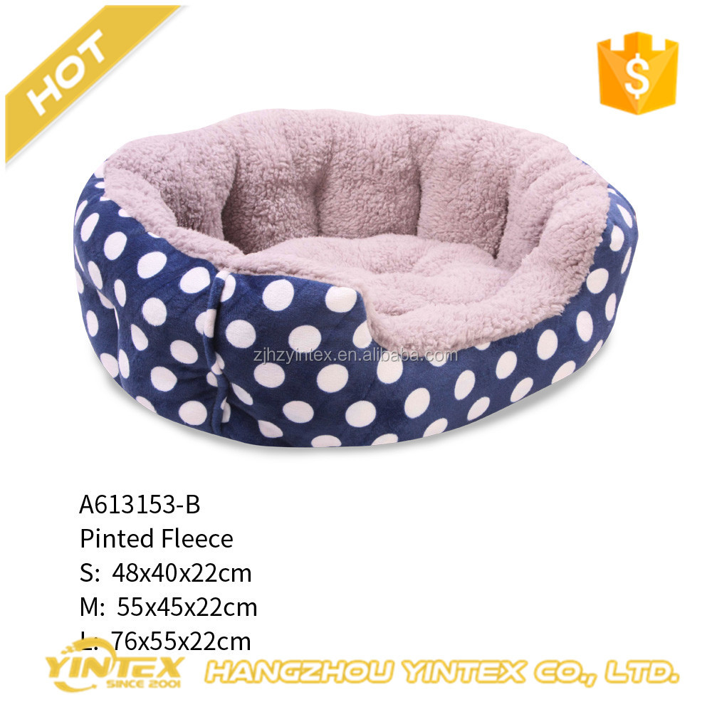 Luxury beautiful comfortable pet bed plush cheap funny toy dog bed with best price