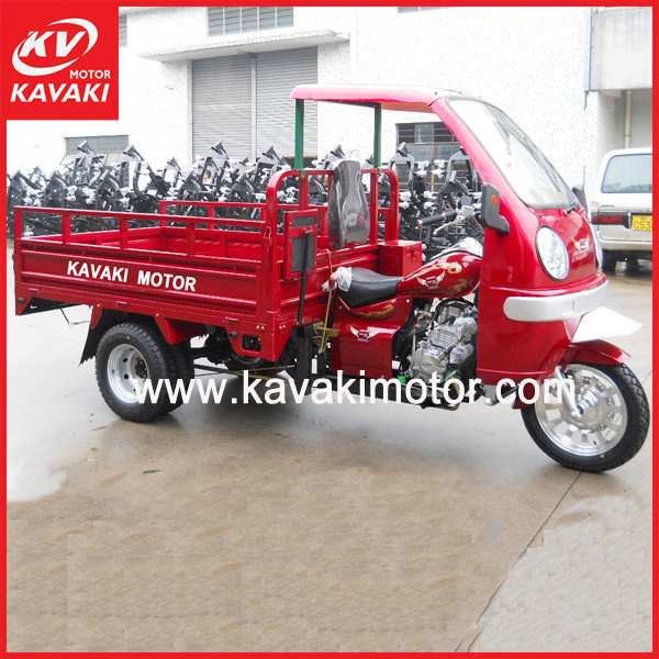 MTR Model Semi Closed Cabin Tricycle Cargo Moto Cycle 250CC 200CC Sales In Colombia